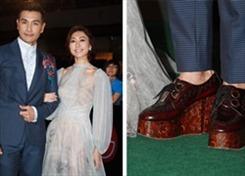 Sợ lùn, tài tử TVB đành sắm giày cao nam tới nhận giải