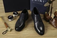 Các chi tiết trong hộp giày da cao cấp GRINI - SMART SHOES