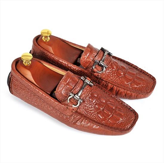 Giày da nam hàng hiệu D-2