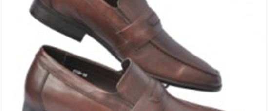 Giày da nam ITALY - ST26 Brown